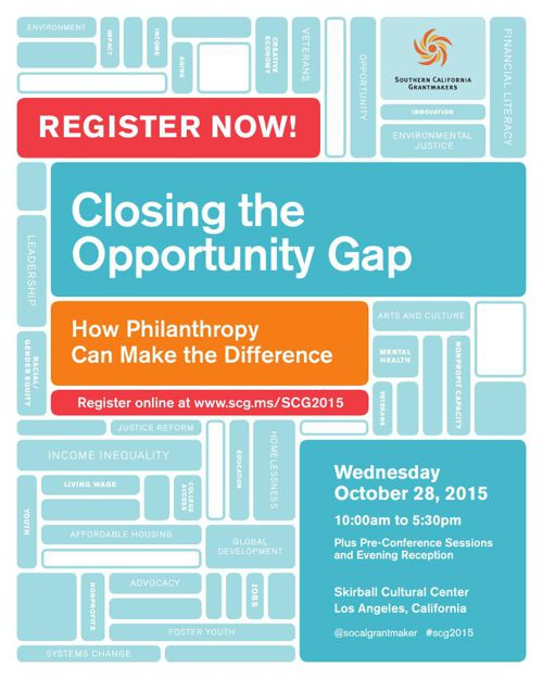 Southern California Grantmakerse 2015 Annual Conference