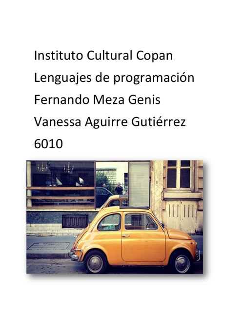 Lenguajes de programación-
