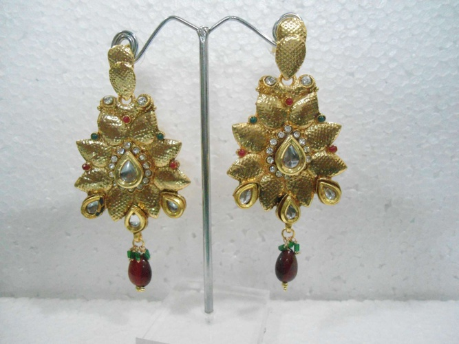 Kundan/ Meena Earings - Part 5