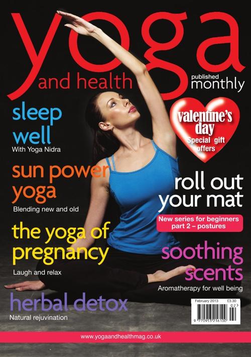 Yoga and health Feburary 2013