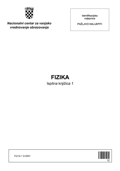 Fizika - ljetni rok 2009.-2010.