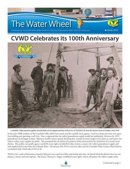 2018 Winter Water Wheel