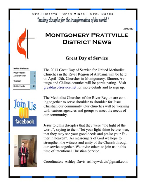 MTPT April Newsletter