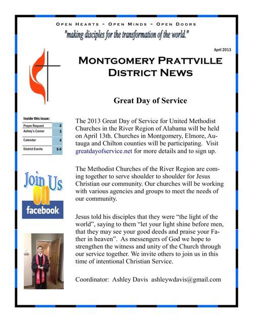 MTPT April Newsletter