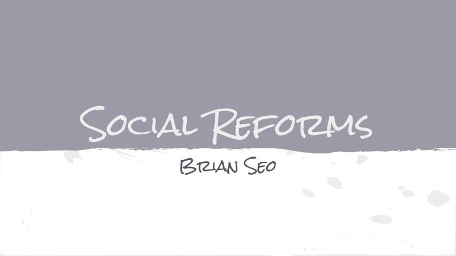 Social Reforms Project (1)