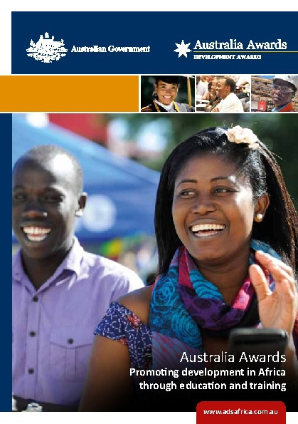 Australia Awards in Africa - English