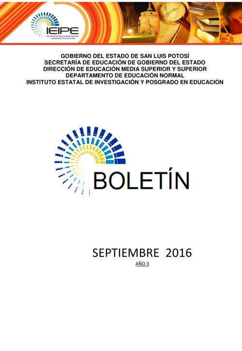 boletin septiembre 2016