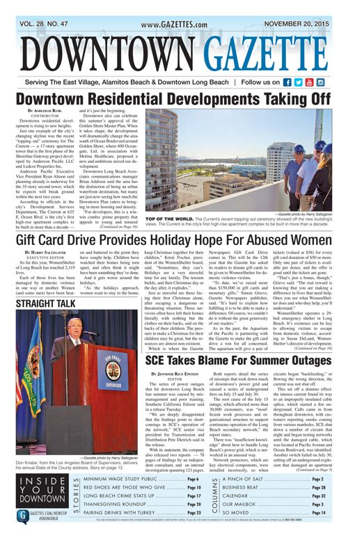 Downtown Gazette  |  November 20, 2015
