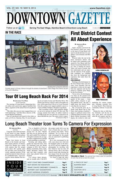 Downtown Gazette     May 9, 2014