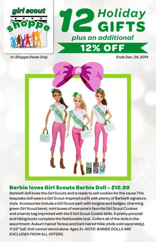 Girl Scouts of Suffolk County's 12 Holiday Deals @ The GS Shoppe