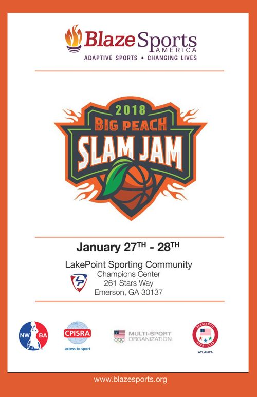 2018 BlazeSports Big Peach Slam Jam Program_FINAL 011018v2