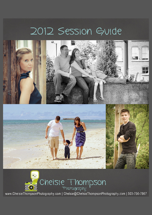 Chelsie Thompson Photography Session Guide