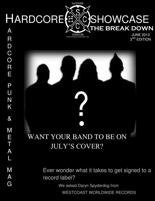 "HARDCORE SHOWCASE JUNE EDITION OF ""THE BREAKDOWN"""