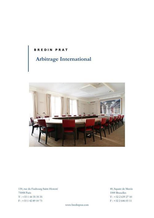 Présentation Bredin Prat Arbitrage International 25 11 13 (as se