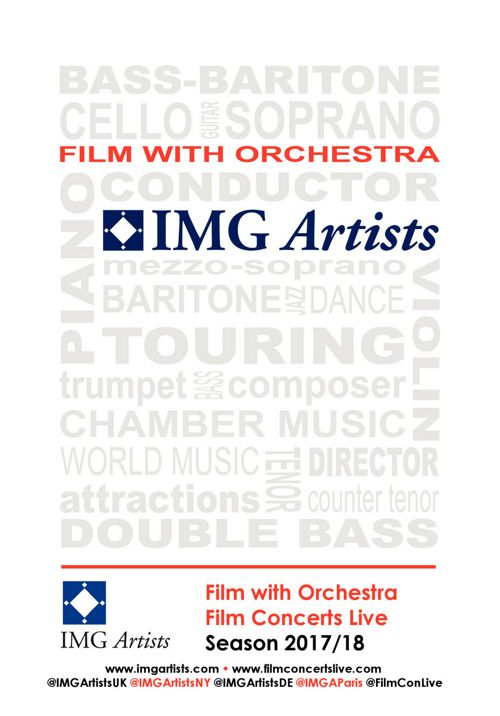 IMG Artists Film with Orchestra Season 2017/18