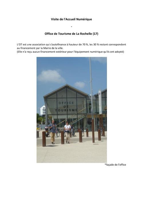 Compte-rendu La Rochelle