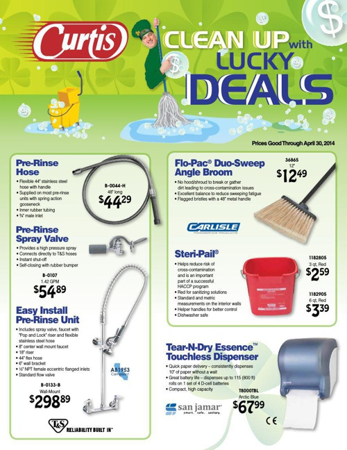 Curtis Spring (Cleaning) Sale Flyer