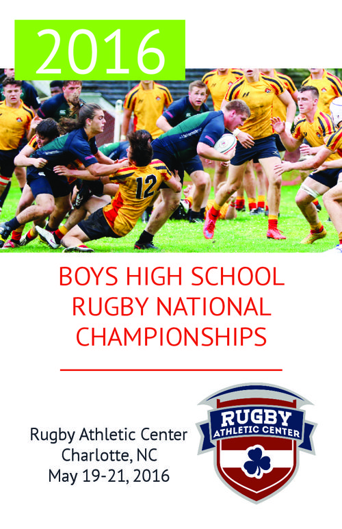 2016 Boys HS Rugby National Championships