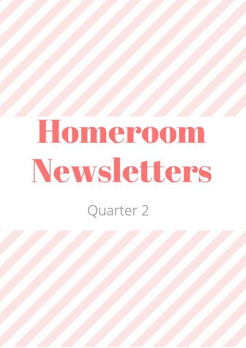 Homeroom Quarter 2