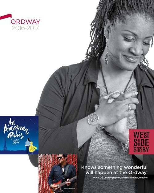Ordway Center for the Performing Arts' 16-17 Season brochure