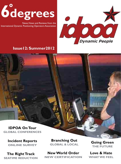 IDPOA 6degrees Issue 12 Summer 2012