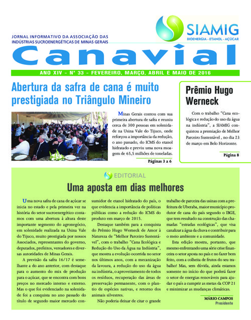 Canavial maio
