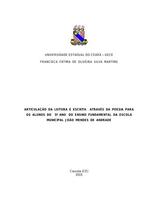 PROJETO DE PESQUISA -FÁTIMA