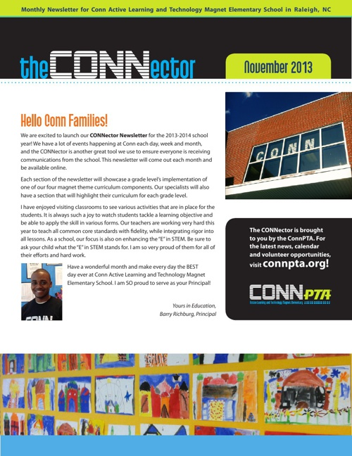 Read the November CONNector.