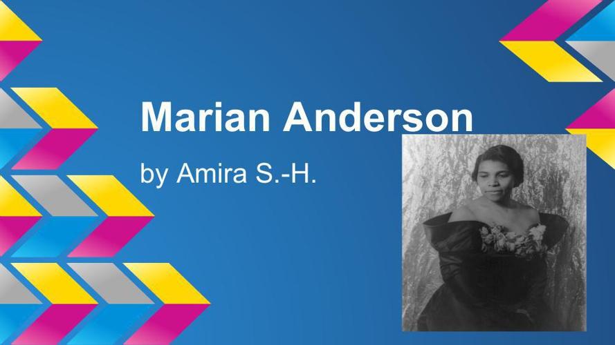 Marian Anderson SPEECH