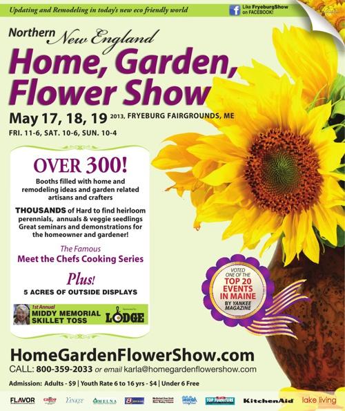 Northen New England Home, Garden, Flower Show