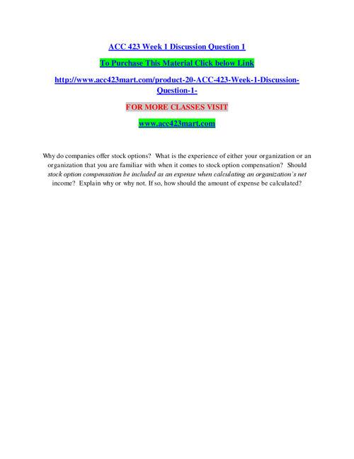 ACC 423 MART EDUCATION EXPERT / acc423mart.com