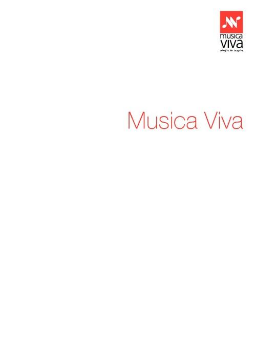 Musica Viva Australia 2013 | Corporate Brochure