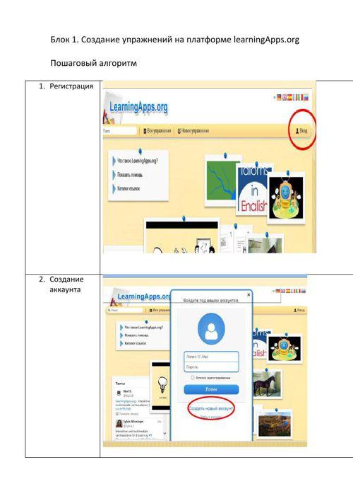Блок 1 алгоритм learningapps