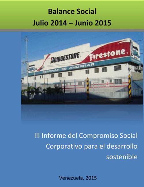 III Balance Social RC Julio2014 Junio 2015