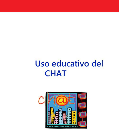 Uso educativo del chat