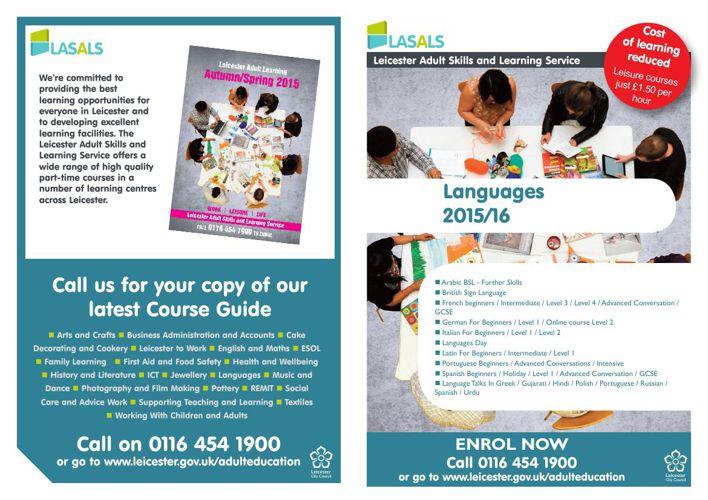 LASALS Languages courses 2015