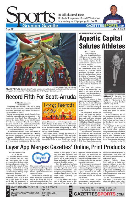 Gazette Sports | July 19, 2012