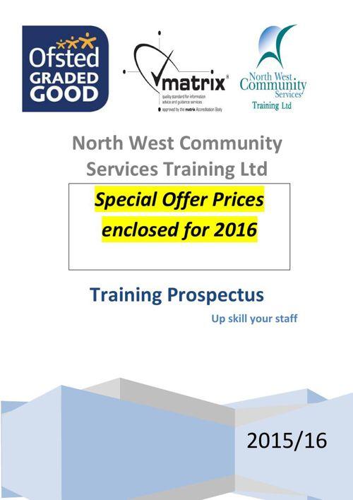 Training Prospectus 2015
