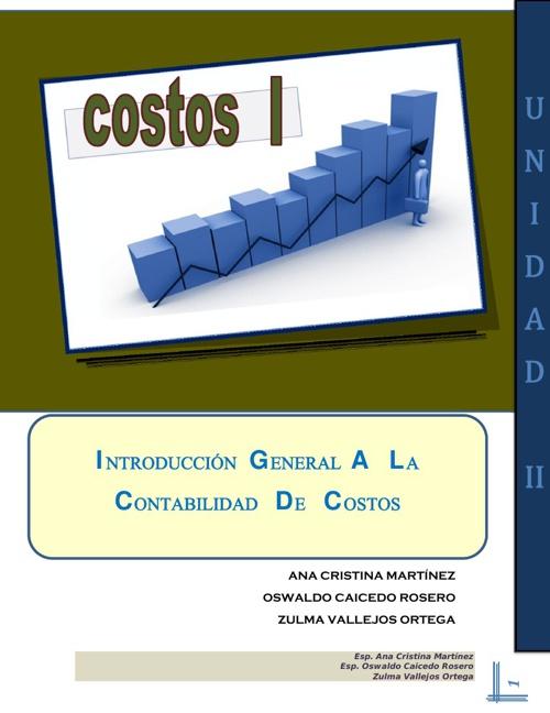 COSTOS I - MODULO UNIDAD II