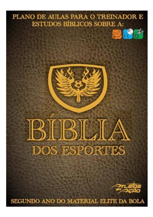 Bíblia dos Esportes Sub-11/13