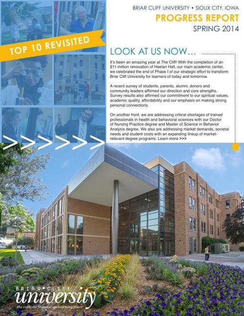 Briar Cliff University Spring Update