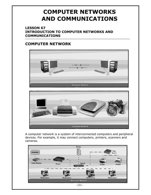 LA3: Comp. Networks and Communications