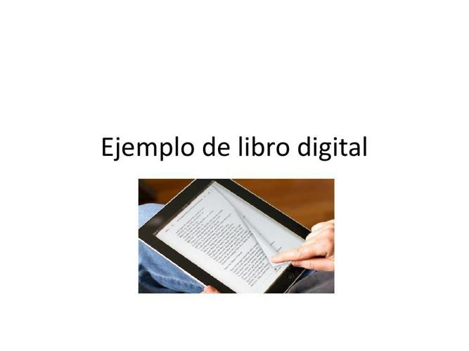 Ejemplo de libro digital