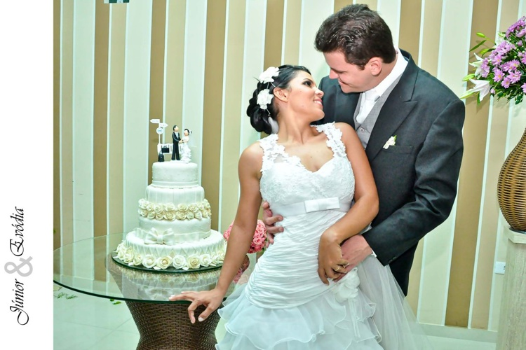 Álbum de Casamento de Júnior e Evódia