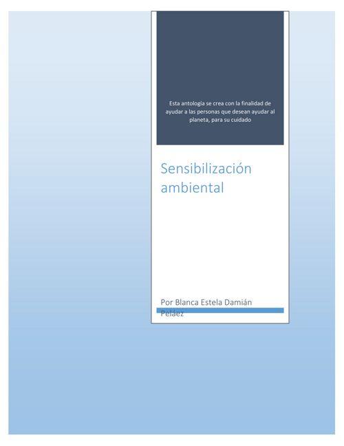 Sensibilización ambiental2