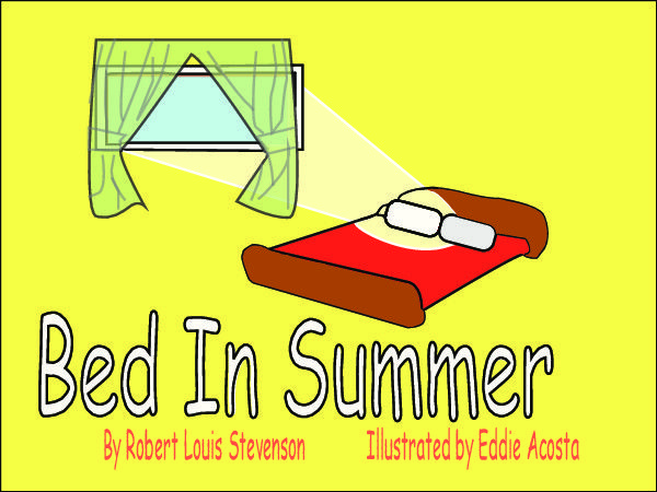 acosta eddie bed in summer part 1