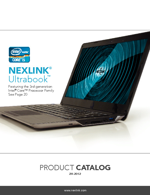Nexlink 2H-2012 Product Catalog