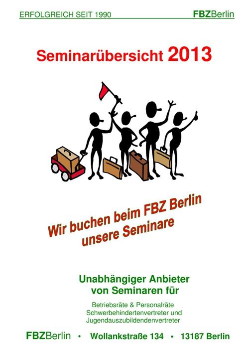 FBZBerlin Katalog 2013