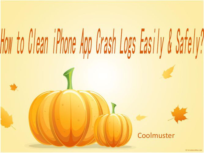 How to Clean iPhone App Crash Logs Easily & Safely