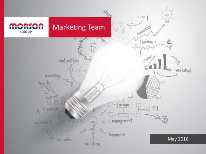 Marketing Team May 2016